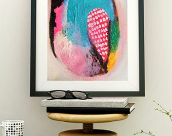 Modern Abstract Wall Art - Contemporary Modern Art - Bohemian Artist Paintings