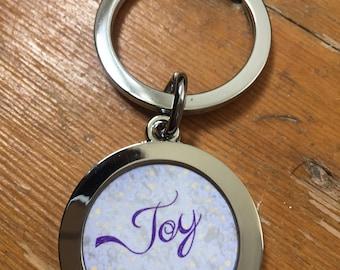 "Key Ring ""Joy"""