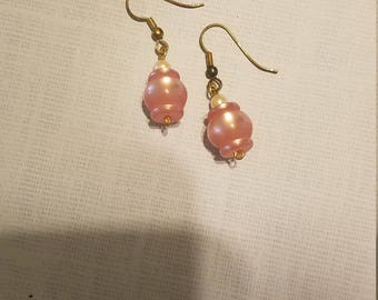 Pink Persuasion Drop Earrings