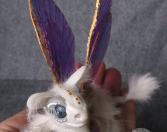 Dragon Butterfly Art Doll Sculpture Collectible