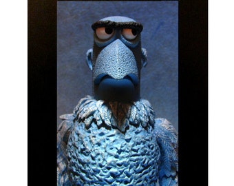 Sam the Eagle Toy Photograph Framed Muppets