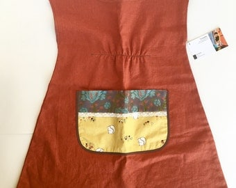 Girls squirrel tunic