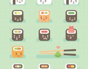 Sushi Squares
