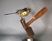 Bird on Hatchet #1434
