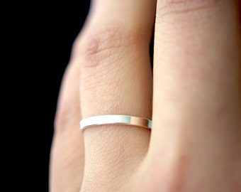 Smooth Extra Thick Silver ring, Sterling Silver stacking ring, thick silver ring, thick silver band, smooth silver ring, one single ring