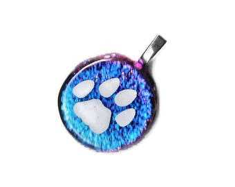 Dog Paw Necklace, Animal Lover Gift, Puppy Paw Necklace, Dog Jewelry, Animal Necklace, Paw Print Necklace, Dog Lover Necklace