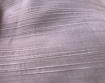 2 Yards of Vintage Grey Textured Satin Lining Fabric