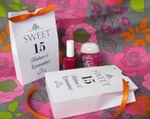 Quinceanera - Quinceanera  Party Favors - Favor Boxes - Party Favors - Quinceanera Favors - Quinceanera Favor Boxes - Sweet 15 - Teen Party
