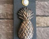 Tropical Pineapple Doorbell
