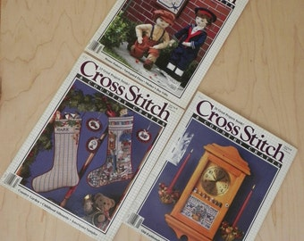 Cross Stitch and Country Crafts Magazine Spring to Summer 88 Selection of  3 Your Choice of One