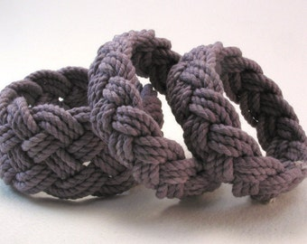 heather cotton rope bracelet series turks head knot bracelet 4077