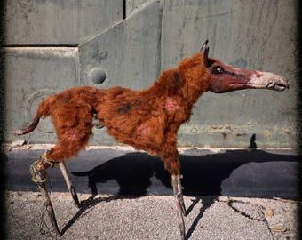 Trashdog -  OOAK Post-apocalyptic Art Doll