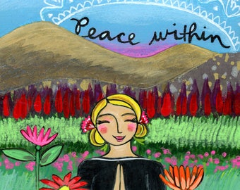 Greeting Card : Peace Within