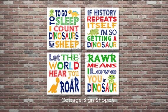 Dinosaur Nursery,Dinosaur Wall Art,INSTANT DOWNLOAD, YOU Print, Dinosaur Art,Boys Nursery Decor,Boys Room Wall Art,Baby Boy Nursery Art