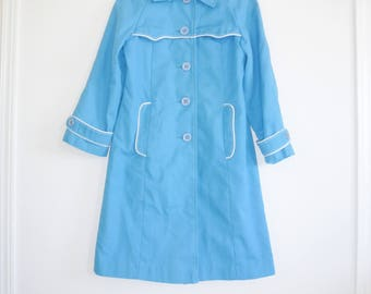 Vintage Blue Girl's Jacket
