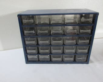 Metal Storage Cabinets with Drawers 24 See Through