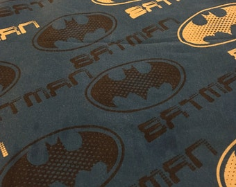 Batman TWIN FLAT  Bedsheet - Reclaimed Bed Linens