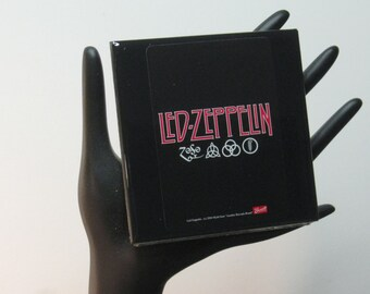 Led Zeppelin Limited Edition Collector Card Drink Coaster