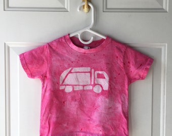 Pink Truck Shirt, Garbage Truck Shirt, Girls Truck Shirt, Girls Garbage Truck, Boys Garbage Truck, Boys Truck Shirt, Kids Truck Shirt (3T)