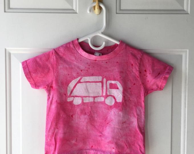 Pink Truck Shirt, Garbage Truck Shirt, Girls Truck Shirt, Girls Garbage Truck, Boys Garbage Truck, Boys Truck Shirt, Kids Truck Shirt (3T)
