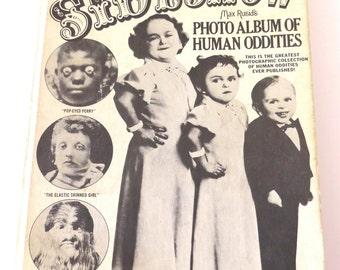 SIDESHOW Book of Freak Show Abnormal Deformed People, Creepy, Eerie, Haunted Vibes, Human Oddities RARE BOOK