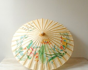 Vintage Parasol, Chinese Parasol