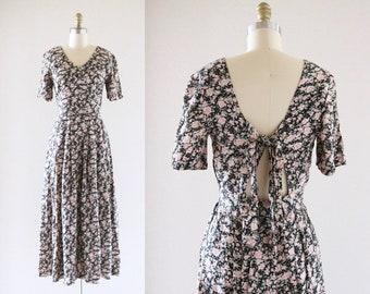 rose garden dress / tie back