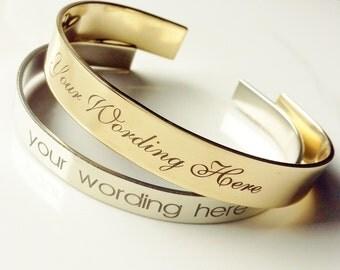 Design Your Own Bracelet *Read Item Details*. Custom Engraved Jewelry . TB&Co Engraved Bracelet