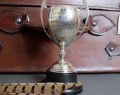 Reserved for Yelena - Vintage Sports Trophy from England - Silver plate EPNS Loving Cup - Vintage English Sporting Trophy