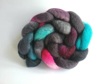 Wild Style Blue Faced Leicester tops for spinning or felting
