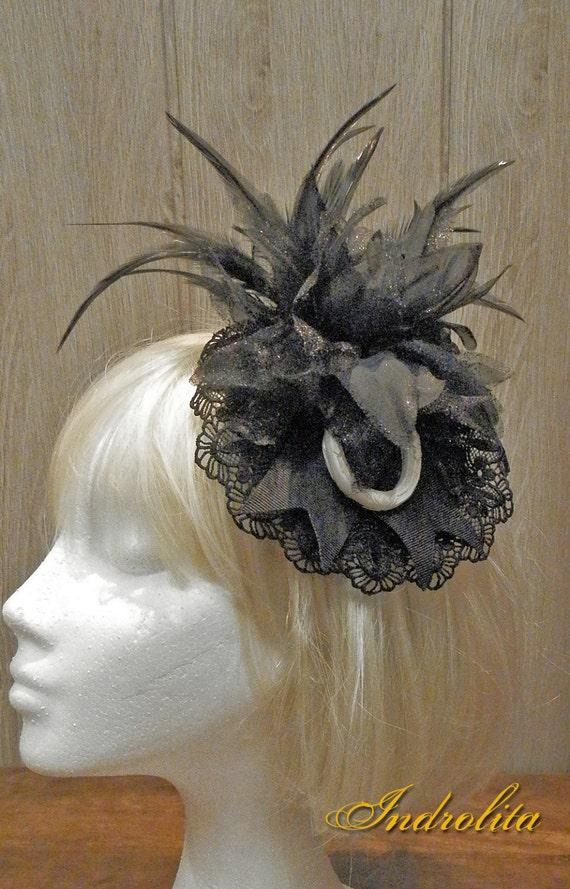White round frame Headdress