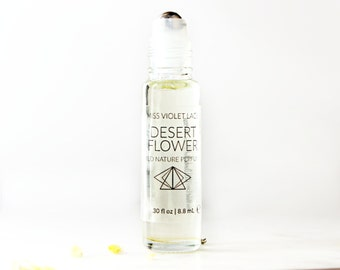 Desert Flower perfume | Sand, Sun and Cacti | 100% natural and vegan