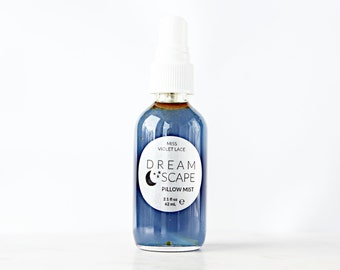 Pillow Mist | Night Body Mist, Bedroom Spray | 100% natural + vegan | Dreamscape