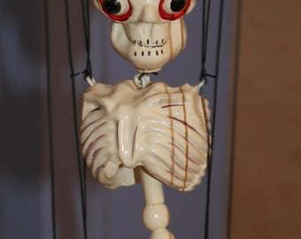 Pelham Puppet Skeleton Marionette