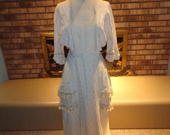 1912 Titanic Edwardian Reproduction Jacquard Tea Dress