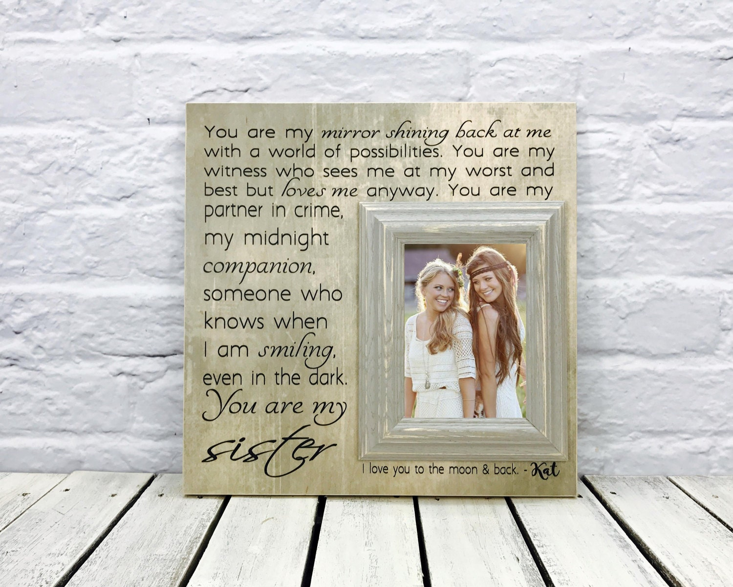 Wedding Gifts For Sisters: Sister Gift Maid Of Honor Gift Sister Wedding Gift