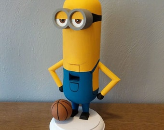 Hand made Minion Nutcracker (Made to Order)