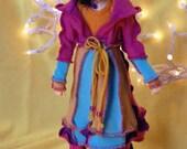 Hobo Wizard Sweater Coat 90's Disney Heroine for Minifee MNF MSD BJD doll