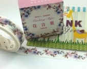 Flower Washi Tape (7M)