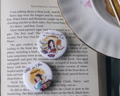 Rory & Belle Badge Set - gifts for booklovers - Cute Fandom badges