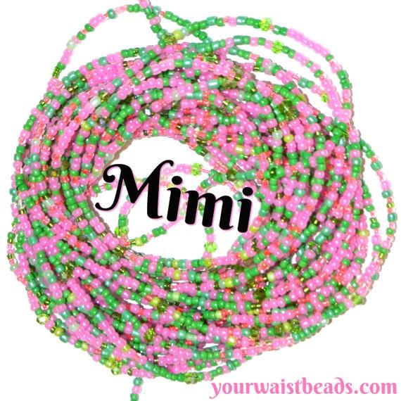 Waist Beads Custom fit ~Mimi ~LOWSTOCK YourWaistBeads.com