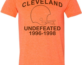 CLEVELAND UNDEFEATED 1996-1998 T-Shirt cle vintage shirt