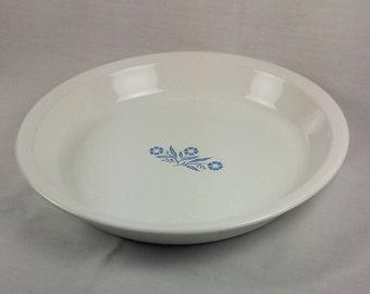 Corningware Cornflower Blue Pie Plate, Vintage Corning Ware Quiche Pie Plate
