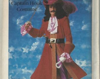 UNCUT Simplicity 7791 Disney Captain Hook Costume Pattern Adult Size Medium