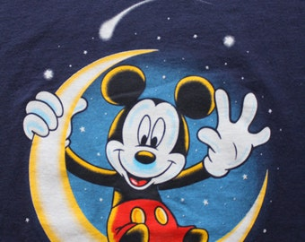 Vintage Disney Mickey Unlimited Graphic T-Shirt 1980s