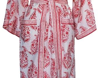 Long Kimono -Moghuli Pink - free size