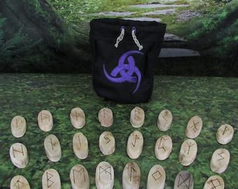 Viking Runes - Triskelion - Rune Set - Norse Runes - Elder Futhark Runes - Asatru Runes - Divination Runes - Odin Runes - Gift Runes