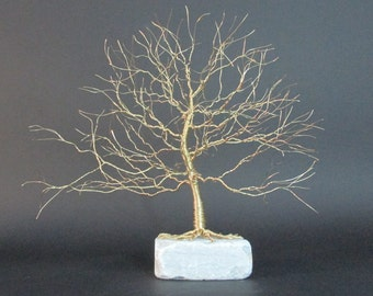 Gold Tree Of Life Art | Tree Of Life Sculpture | Golden Tree Art | Gold Tree Sculpture | Gold Trees