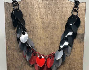 Passionate Nights Shaggy Scale Necklace - Ready to Ship