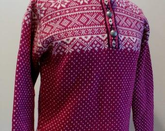 Vintage LL Bean Scandinavian Sweater Size S